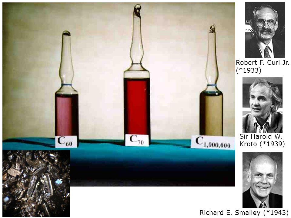 Robert F. Curl Jr. (*1933) Sir Harold W. Kroto (*1939) Richard E. Smalley (*1943)