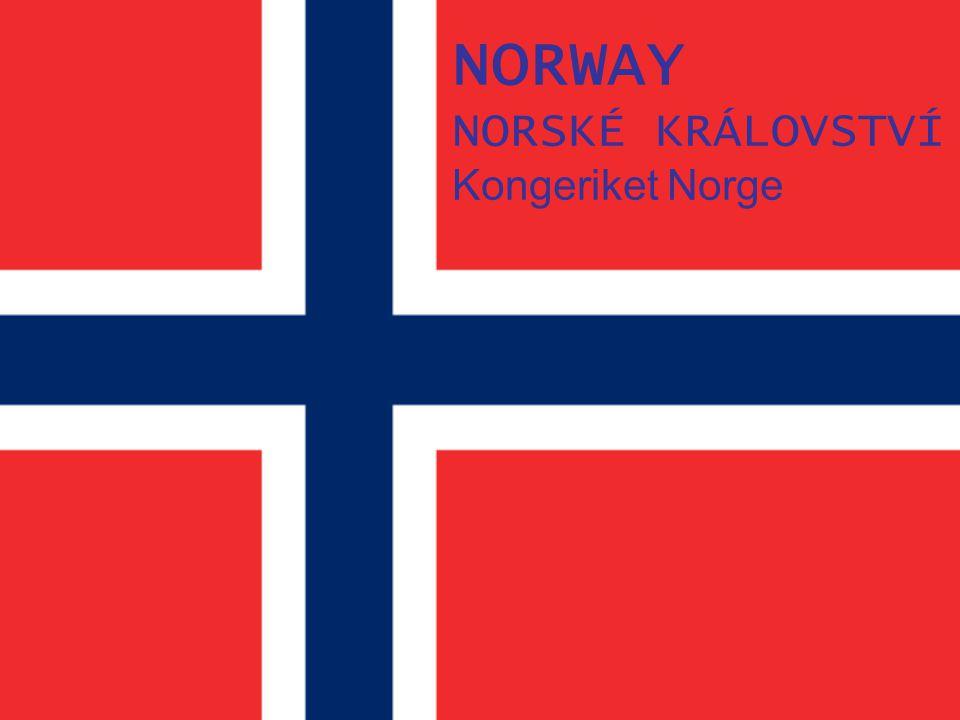NORWAY NORSKÉ KRÁLOVSTVÍ Kongeriket Norge