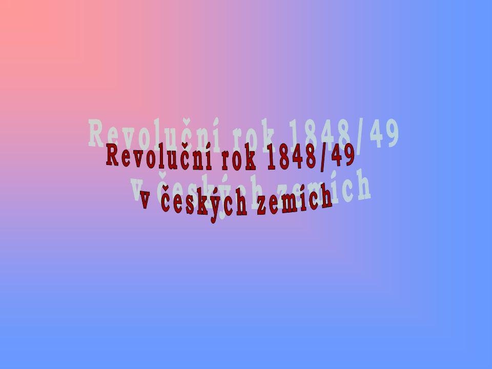 Revoluční rok 1848/49 v českých zemích