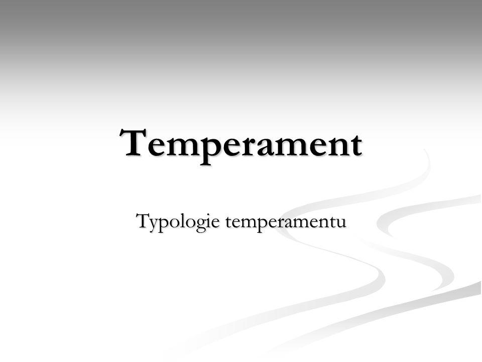 Typologie temperamentu