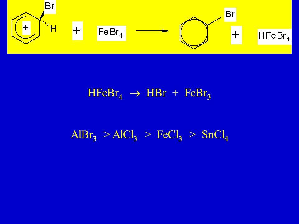 AlBr3 > AlCl3 > FeCl3 > SnCl4