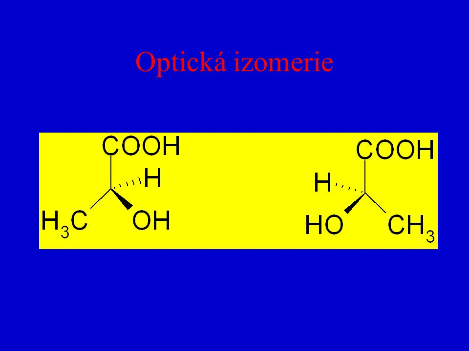 Optická izomerie