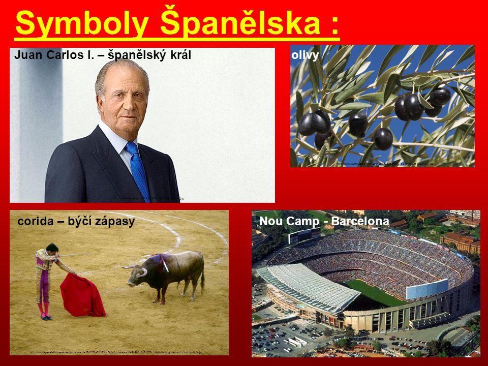 Symboly Španělska : Juan Carlos I. – španělský král olivy