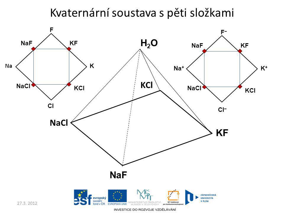 Kvaternární soustava s pěti složkami