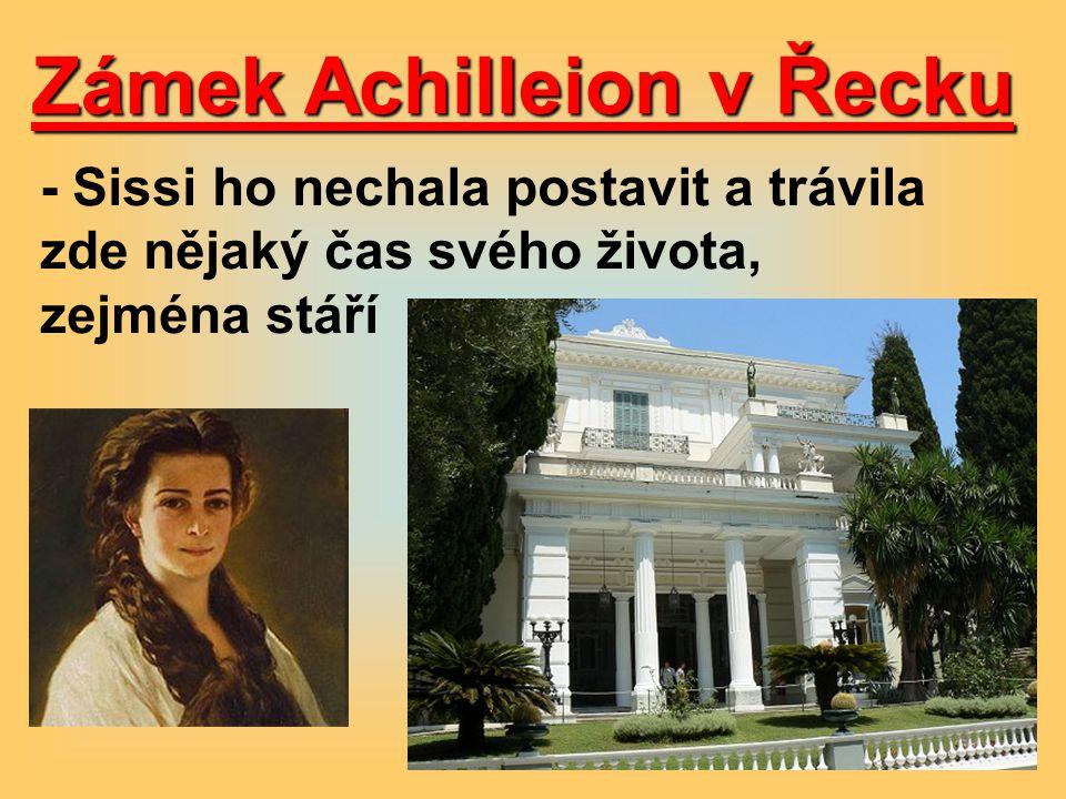 Zámek Achilleion v Řecku