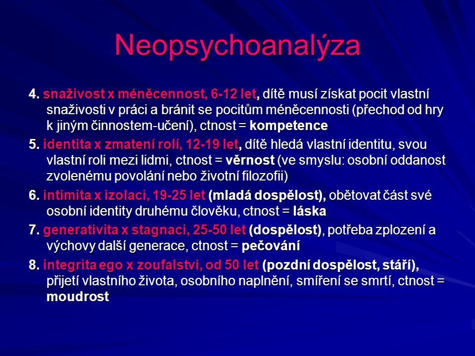 Neopsychoanalýza