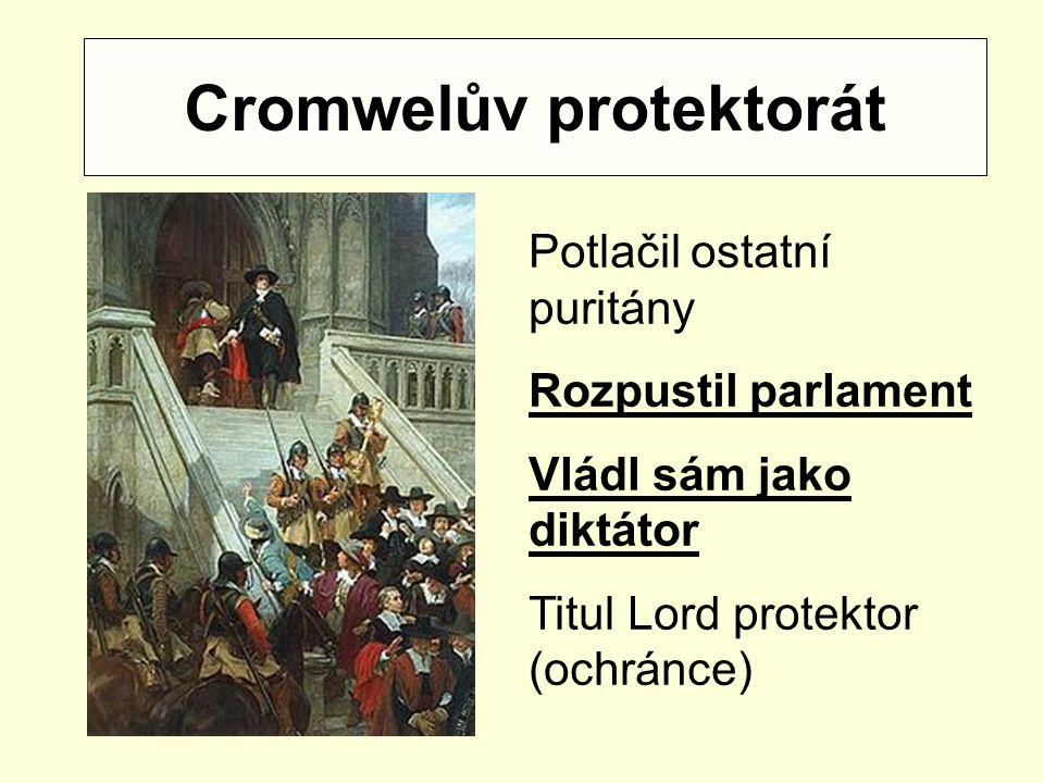 Cromwelův protektorát