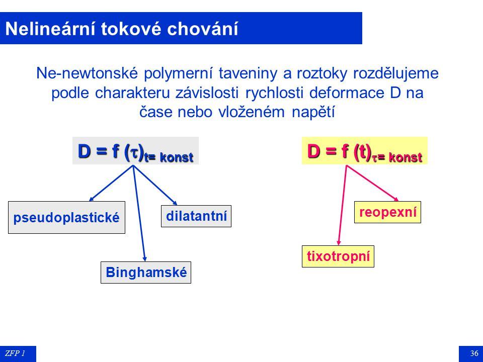 Nelineární tokové chování