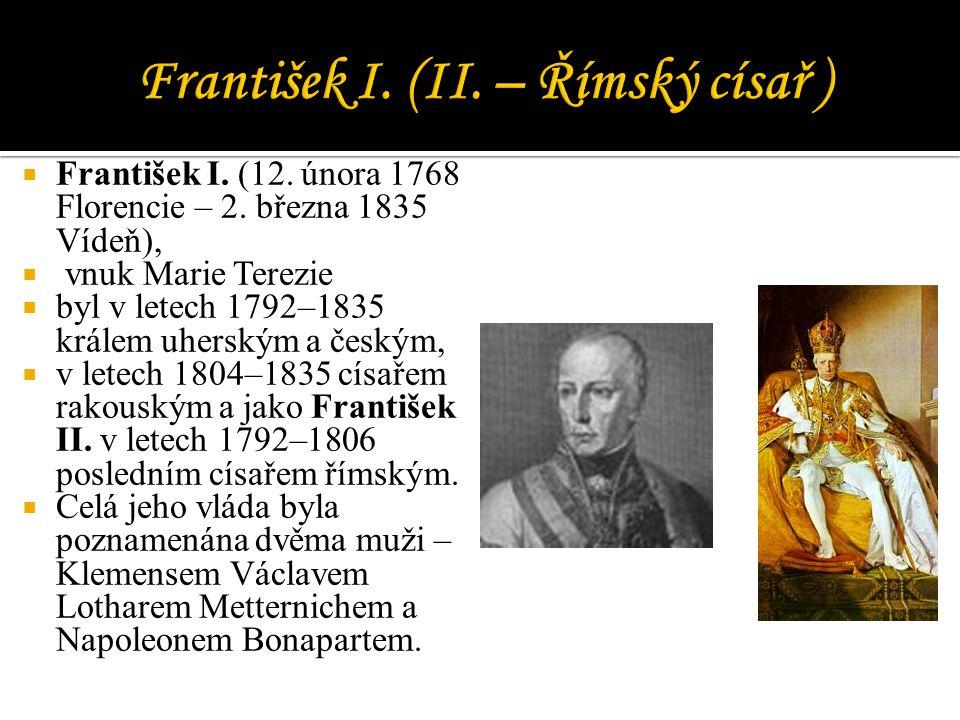 František I. (II. – Římský císař )