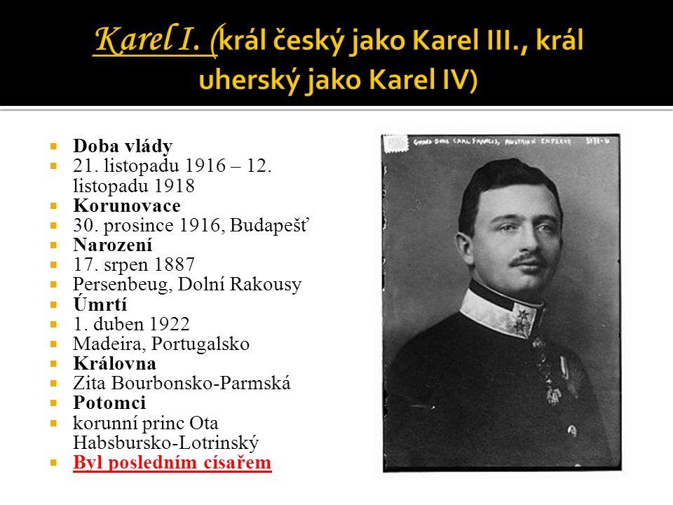 Karel I. (král český jako Karel III., král uherský jako Karel IV)
