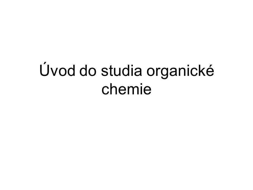 Úvod do studia organické chemie