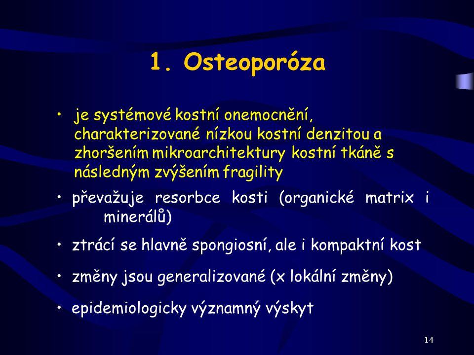 1. Osteoporóza