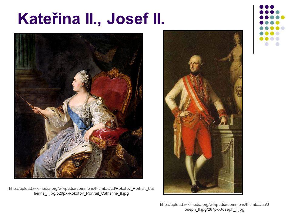 Kateřina II., Josef II.