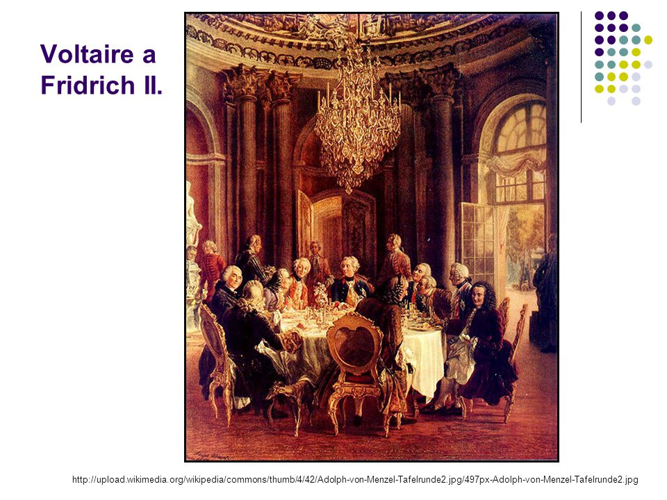 Voltaire a Fridrich II.