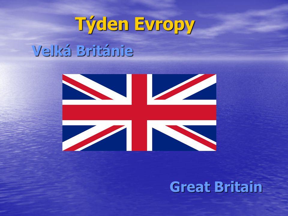 Týden Evropy Velká Británie Great Britain
