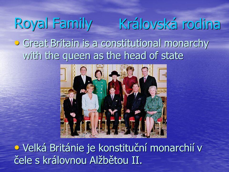 Royal Family Královská rodina