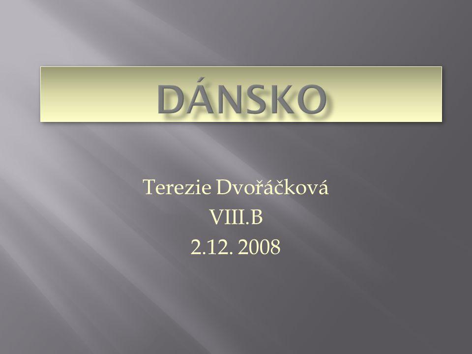 Terezie Dvořáčková VIII.B 2.12. 2008