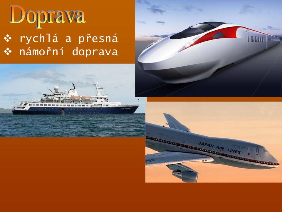 Doprava rychlá a přesná námořní doprava