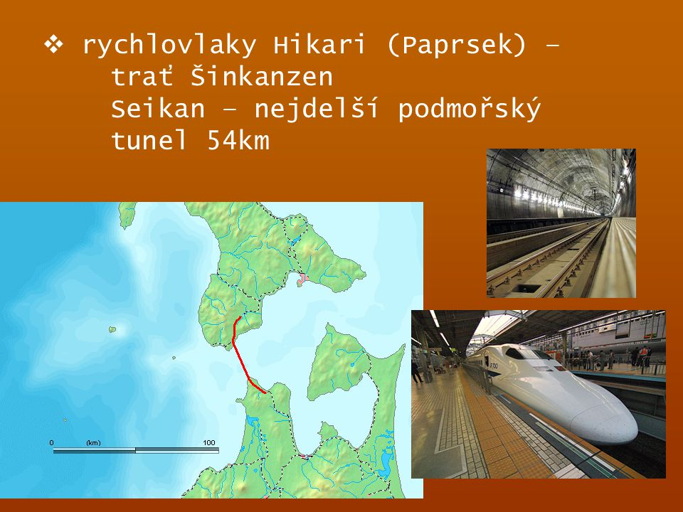 rychlovlaky Hikari (Paprsek) – trať Šinkanzen