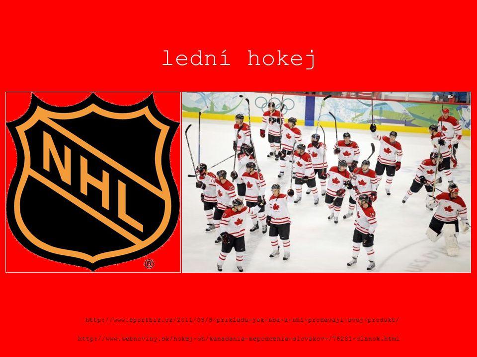 lední hokej http://www.sportbiz.cz/2011/05/8-prikladu-jak-nba-a-nhl-prodavaji-svuj-produkt/