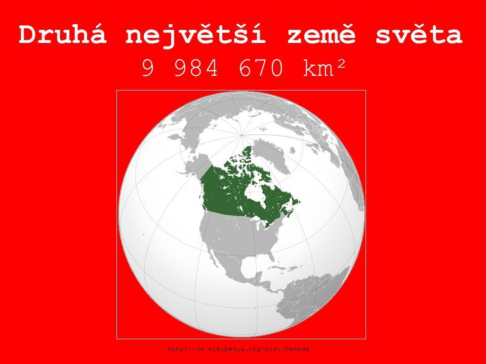 Druhá největší země světa