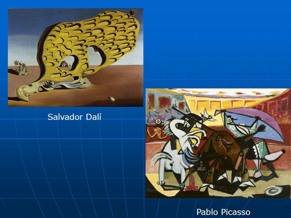 Salvador Dalí Pablo Picasso