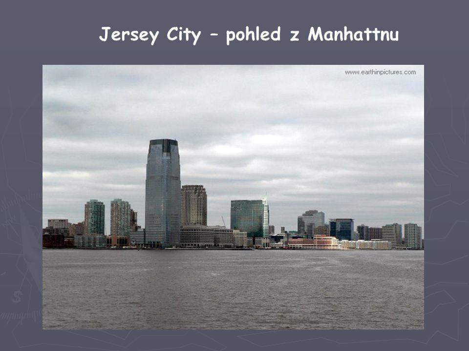 Jersey City – pohled z Manhattnu
