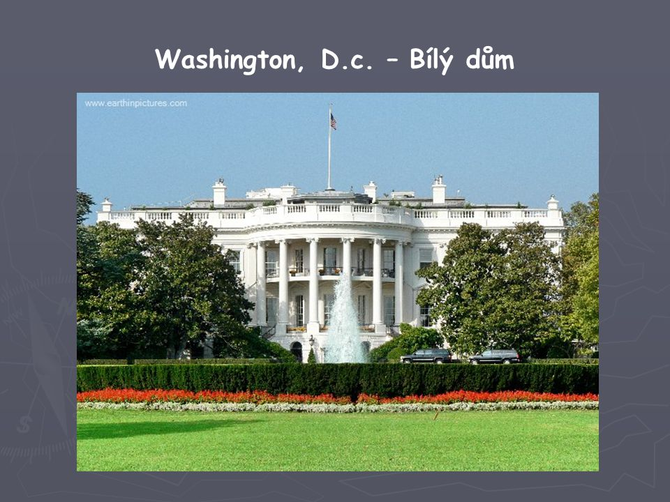 Washington, D.c. – Bílý dům