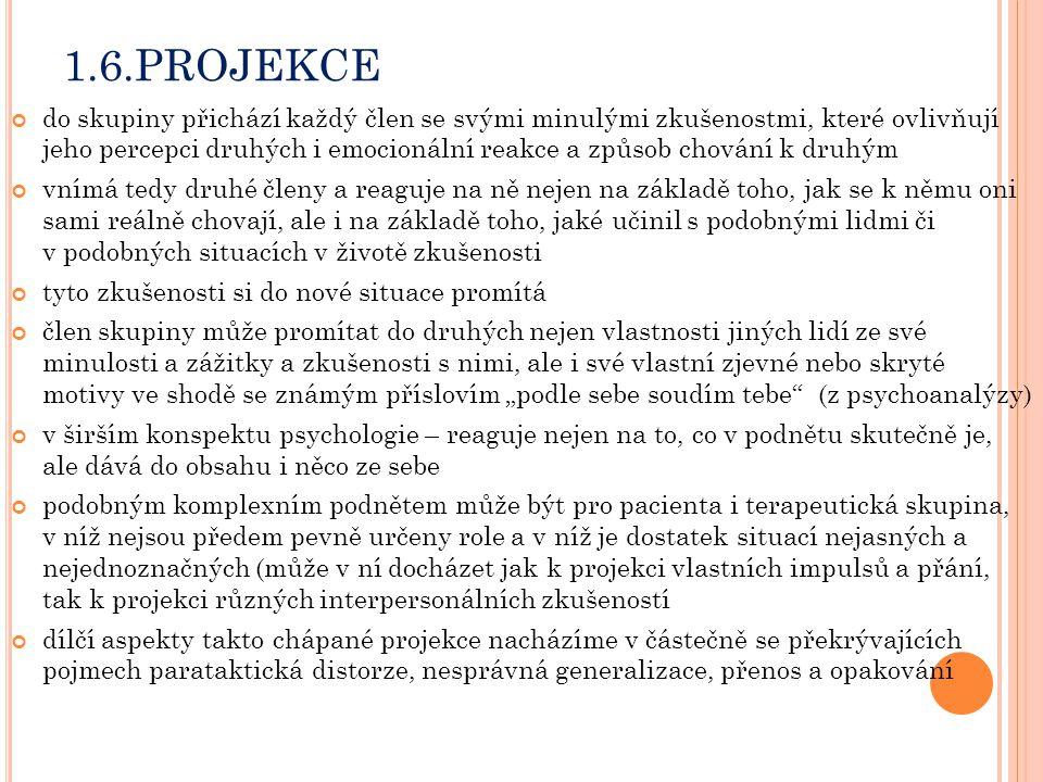 1.6.PROJEKCE