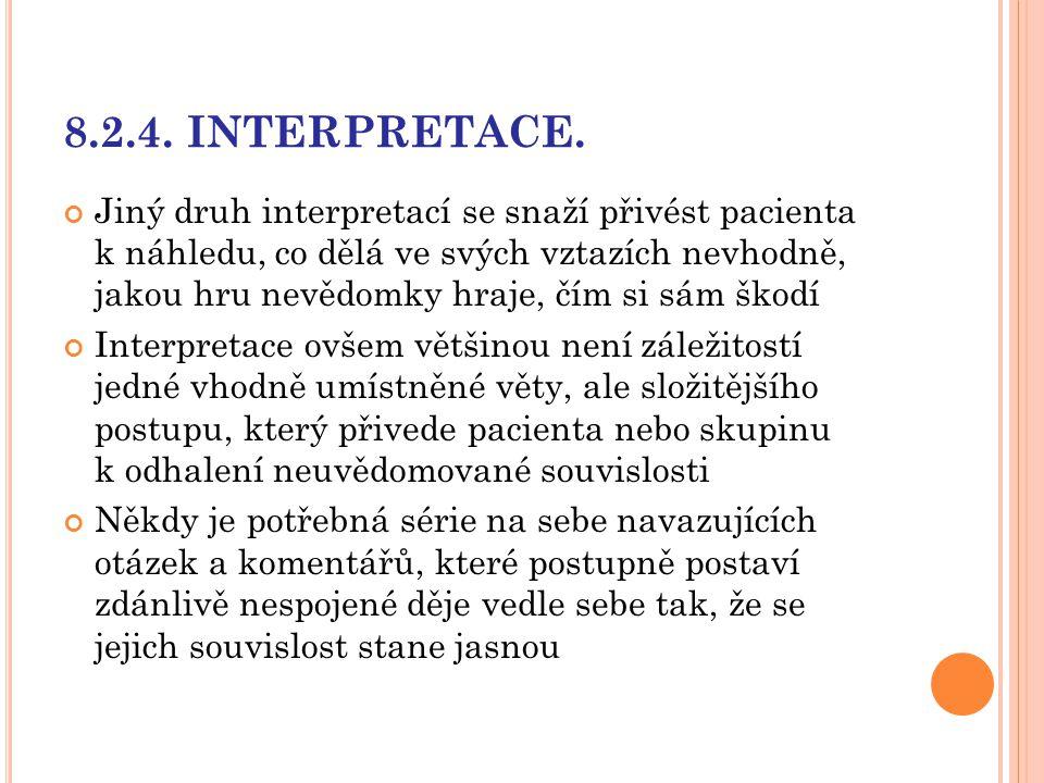 8.2.4. INTERPRETACE.