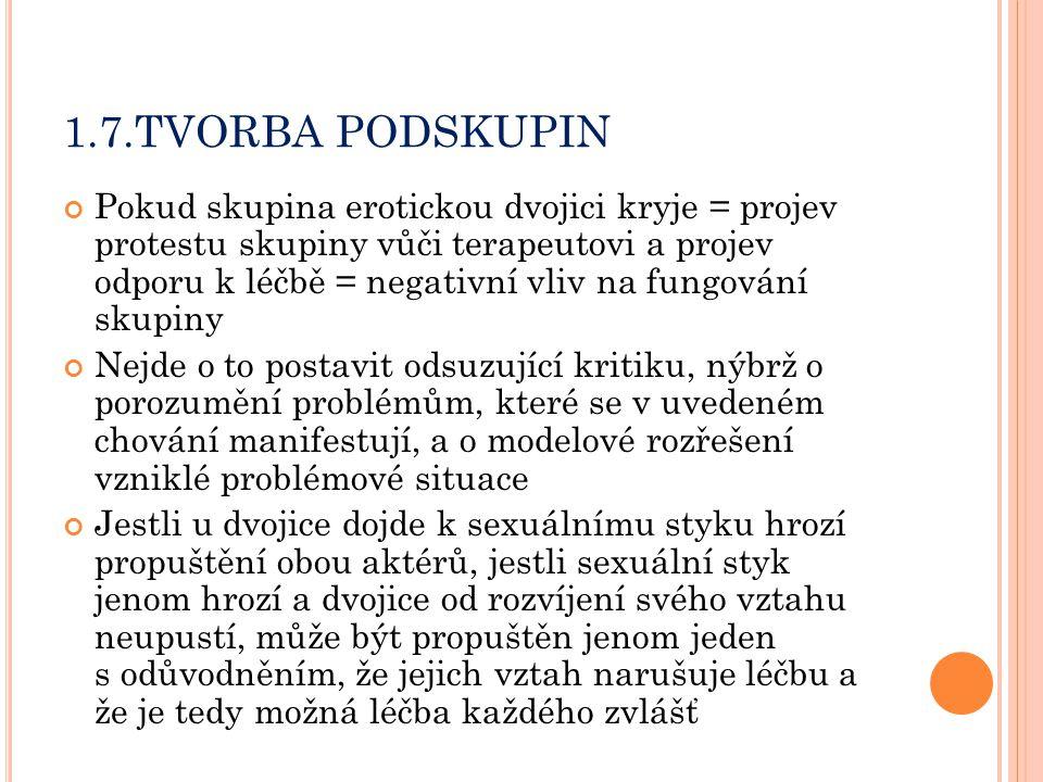 1.7.TVORBA PODSKUPIN