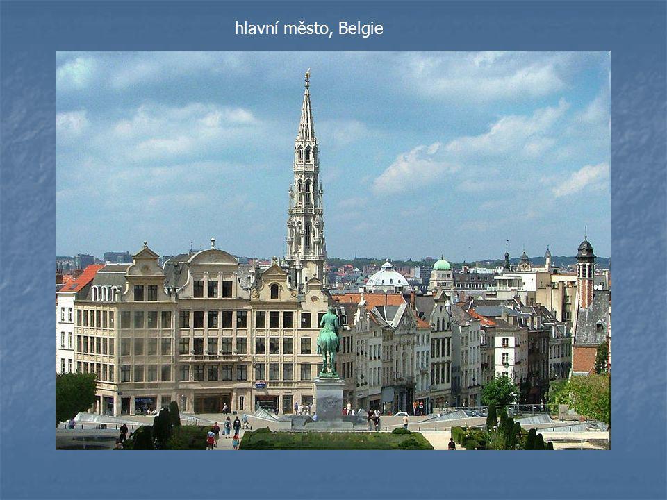hlavní město, Belgie