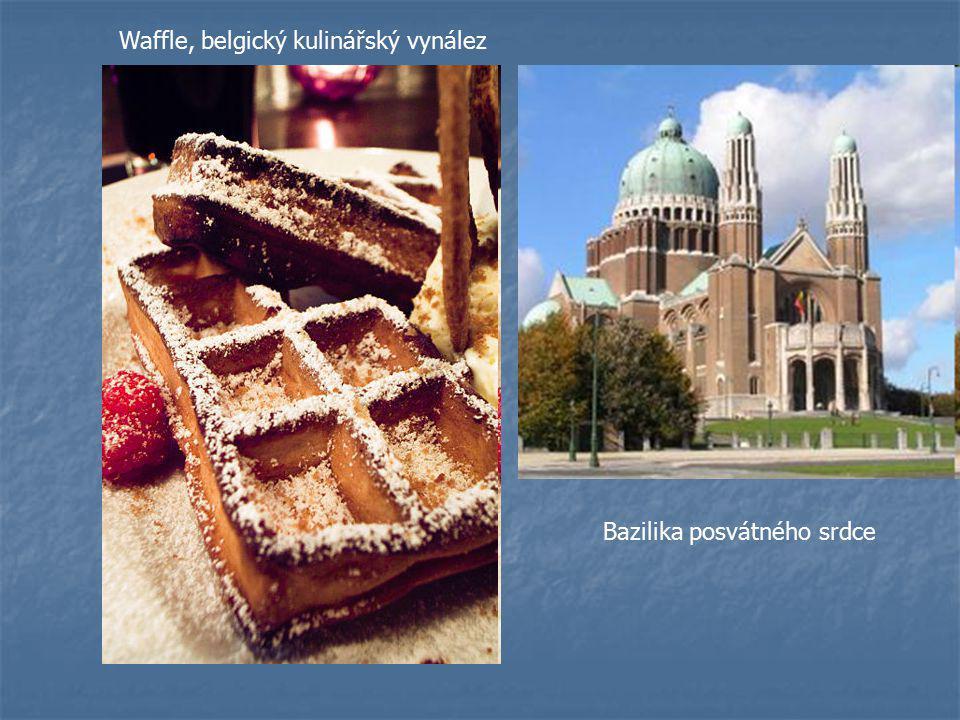 Waffle, belgický kulinářský vynález