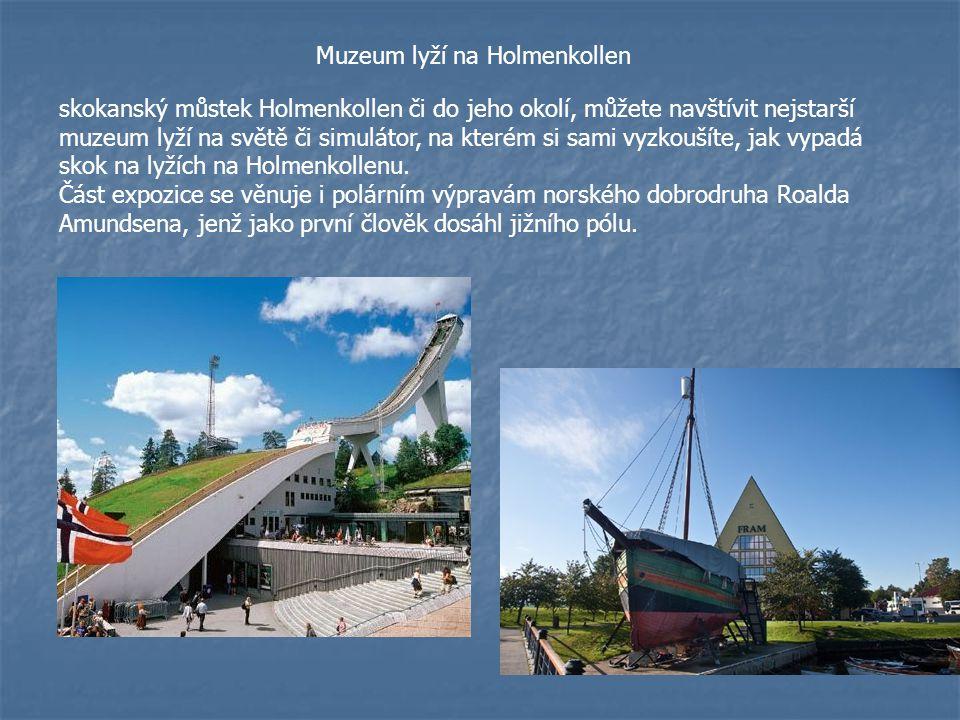 Muzeum lyží na Holmenkollen