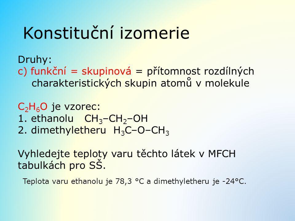 Konstituční izomerie