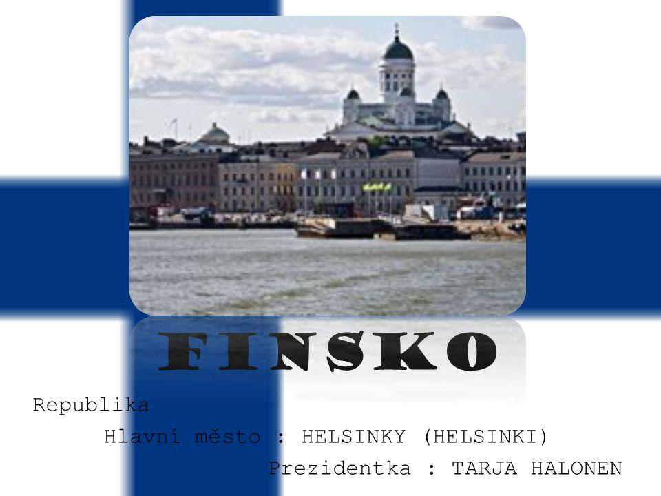 Hlavní město : HELSINKY (HELSINKI)