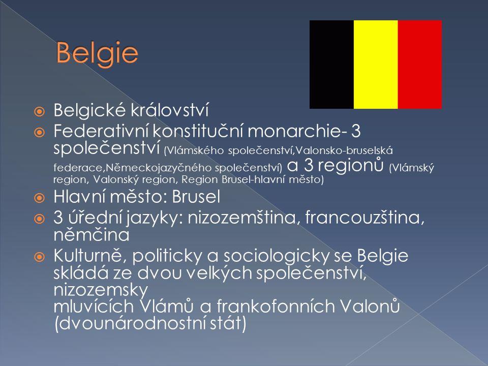 Belgie Belgické království