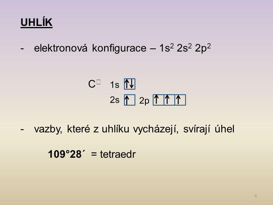 elektronová konfigurace – 1s2 2s2 2p2