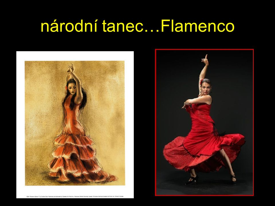 národní tanec…Flamenco
