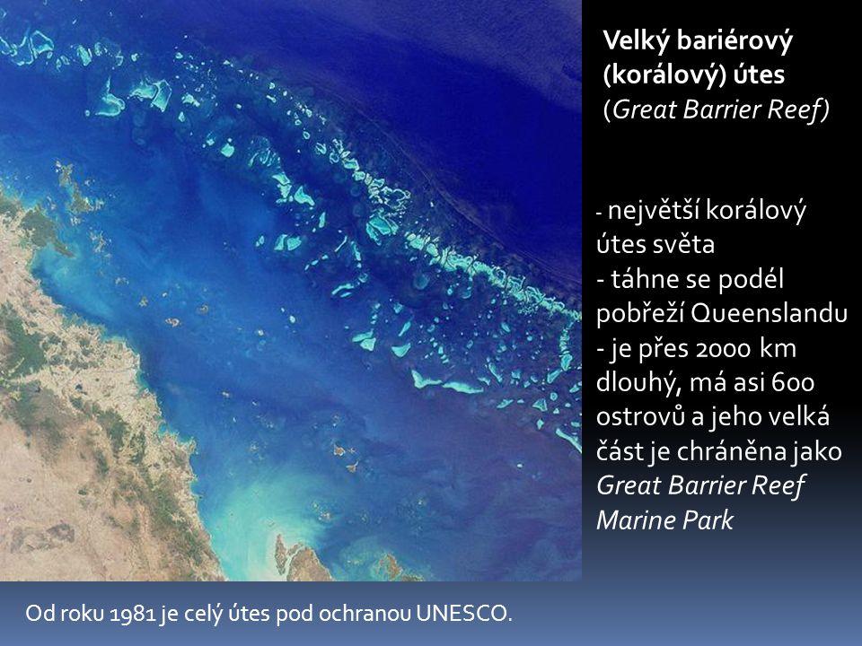 Velký bariérový (korálový) útes (Great Barrier Reef)