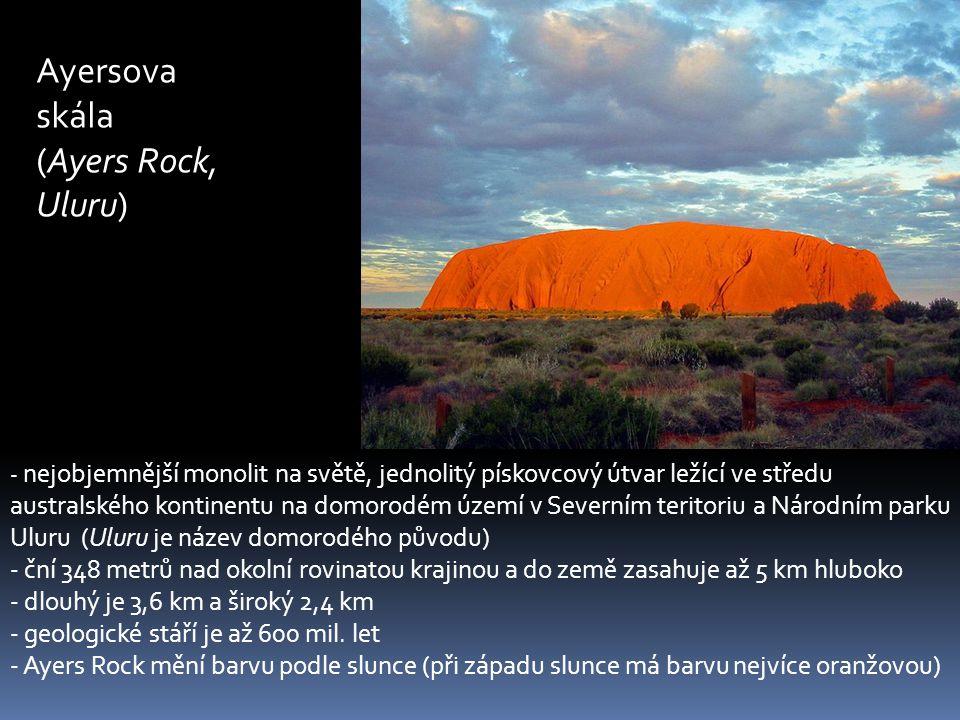 Ayersova skála (Ayers Rock, Uluru)