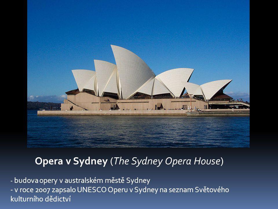 Opera v Sydney (The Sydney Opera House)