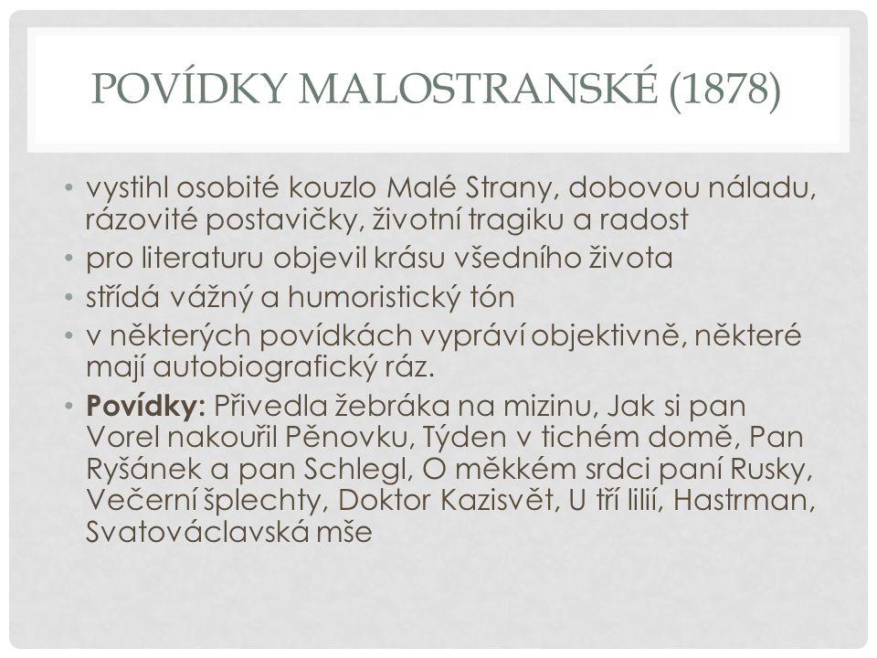 Povídky Malostranské (1878)