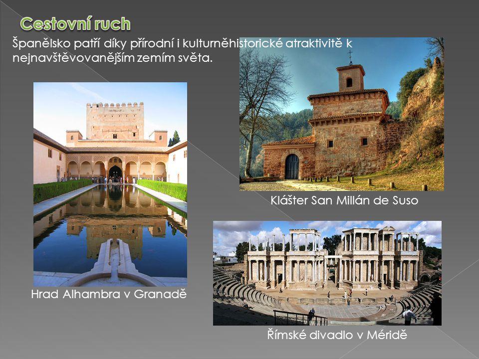 Cestovní ruch Španělsko patří díky přírodní i kulturněhistorické atraktivitě k nejnavštěvovanějším zemím světa.