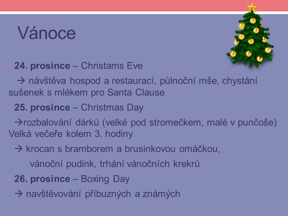 Vánoce 24. prosince – Christams Eve