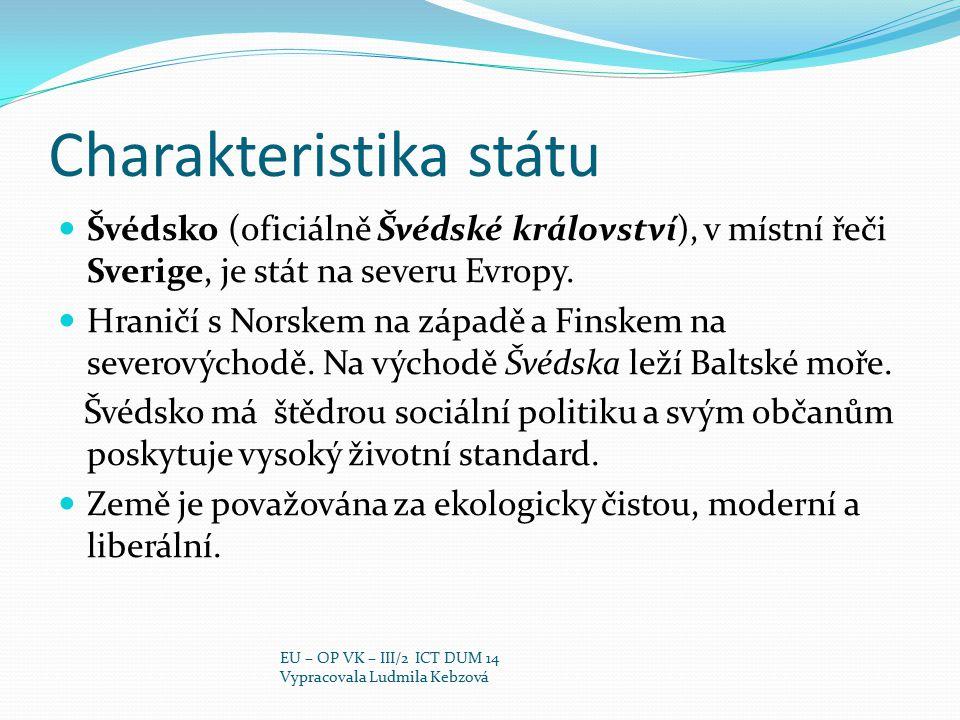 Charakteristika státu