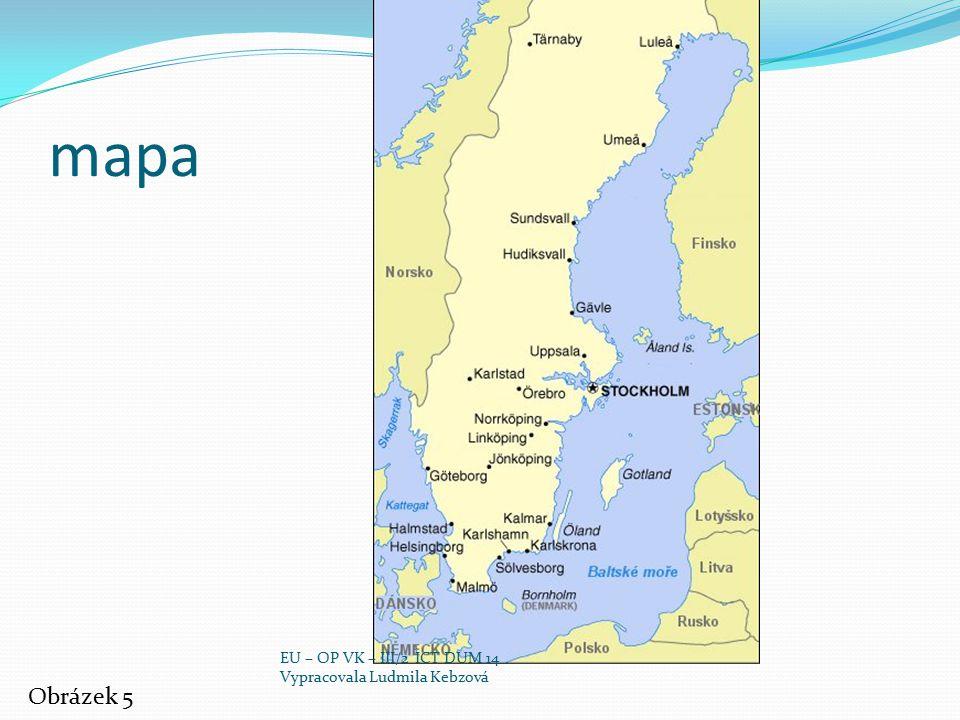 mapa Obrázek 5 EU – OP VK – III/2 ICT DUM 14
