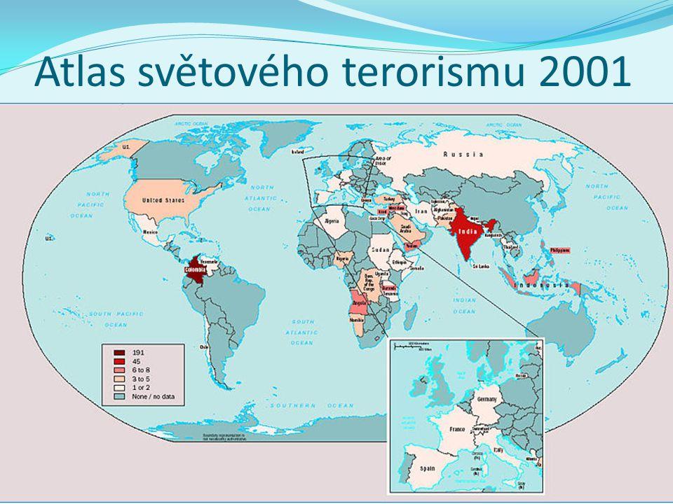 Atlas světového terorismu 2001