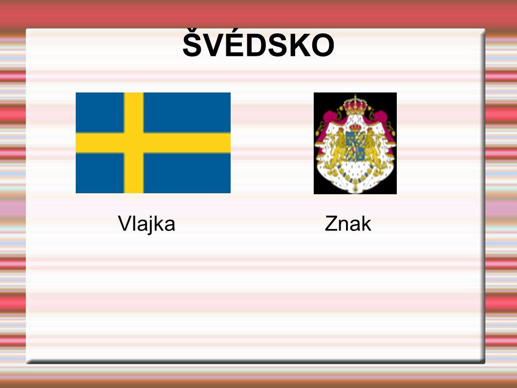 ŠVÉDSKO Vlajka Znak