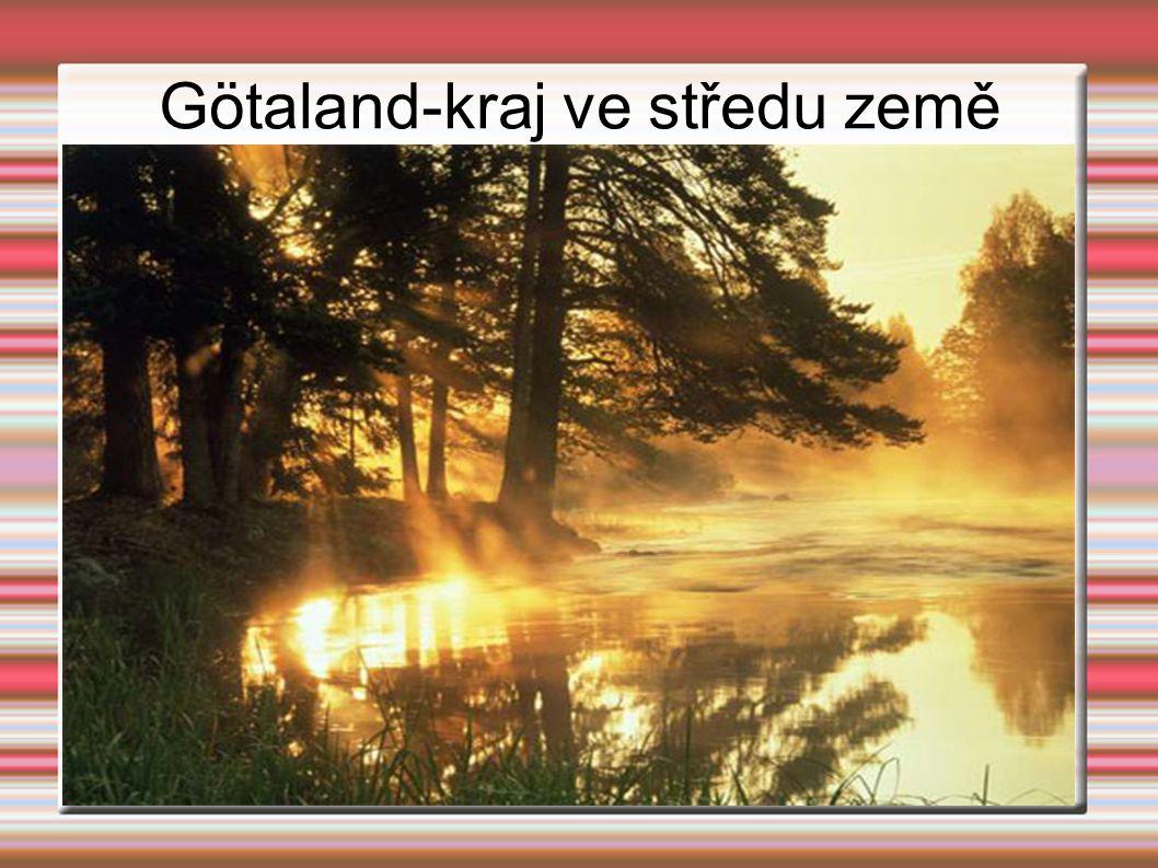 Götaland-kraj ve středu země